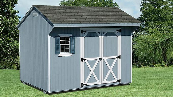 Quaker Style Storage Barn - EBERLY BARNS