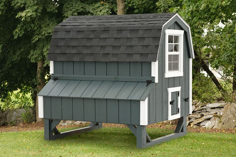 Barn Style Chicken Coops Eberly Barnseberly Barns