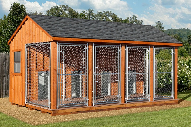 Indoor Outdoor Dog Kennel Runs
