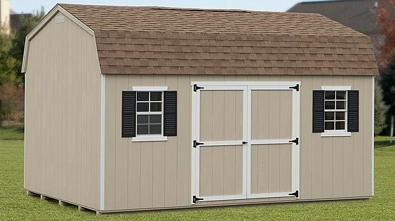 Dutch Style Storage Barn - Eberly Barns