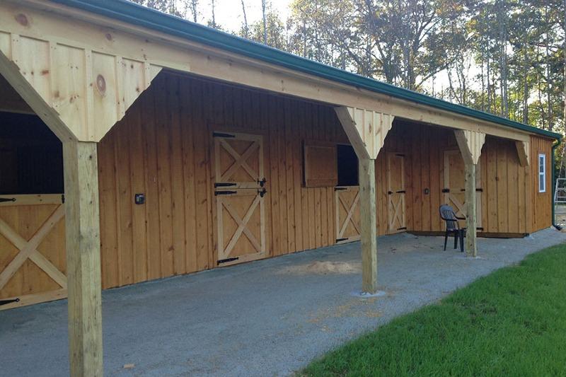 L shaped barns eberly barnseberly barns for Barn shaped garage