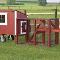 Lean-To Chicken Coops - by Eberly Barns