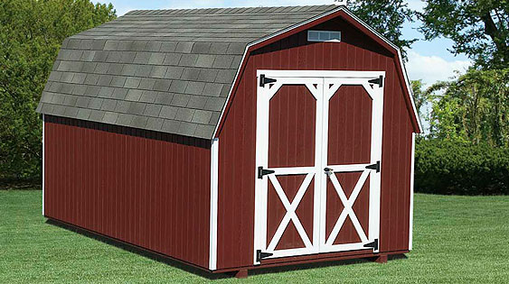 Mini Barn Storage Shed - EBERLY BARNS