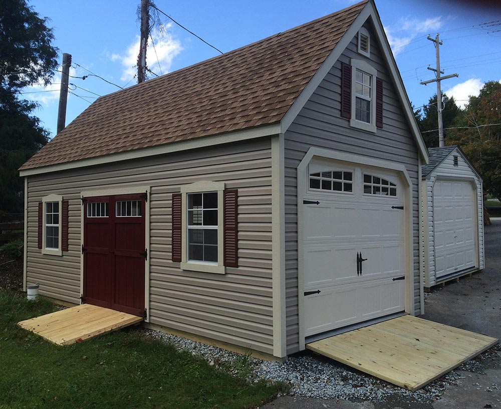 Modular Garages Eberly Barnseberly Barns