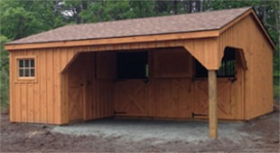 Quality barns sheds made in lancaster pa eberly for L shaped shed plans