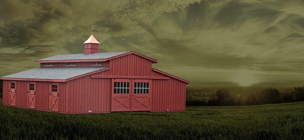 Customizable Modular Barns