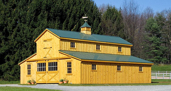 Modular barns garages eberly barnseberly barns for Barn plans for sale