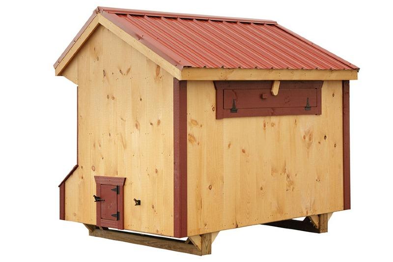 Quaker Chicken Coops Eberly Barnseberly Barns
